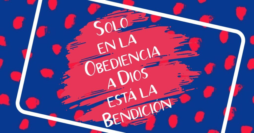 obediencia a dios redil aguacatala